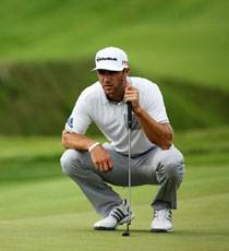 Dustin Johnson Takes Lead at PGA Championships