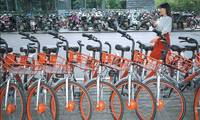 Mobike sues over illegal ads on seat covers