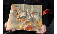 Stolen painting by Impressionist painter Degas found in bus