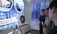 Robot concierge unveiled in Shanghai bank