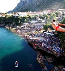 450th Old Bridge diving competition held in Mostar