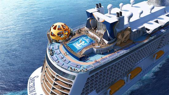 New Royal Caribbean cruise liner to call Shanghai home
